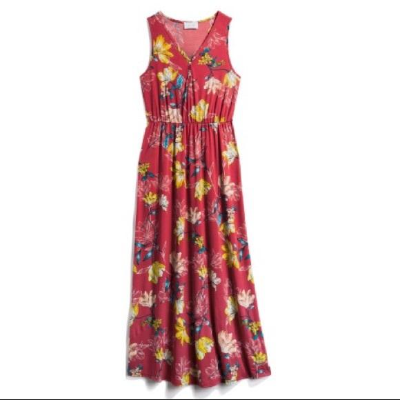 5336e3764ca French Grey Janel Knit Maxi Dress XL